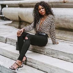 "ESSY   Fashion Blogger + NURSE's Instagram profile post: ""✨Leopard 🖤 ————————————————————— ————————————————————— . . #instafashion #style#fall#fashion #fashiondiariesblogger#youtuber…"" Fashion Blogger Style, Leather Pants, Chic, Fall Fashion, Profile, Instagram, Leather Jogger Pants, Shabby Chic, Fall Fashions"