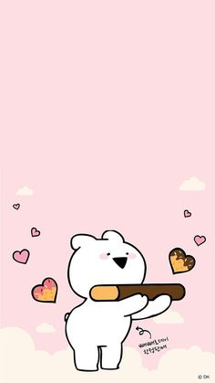 오버액션토끼 wall in 2019 Rabbit Wallpaper, Bear Wallpaper, Kawaii Wallpaper, Cute Wallpaper Backgrounds, Wallpaper Iphone Cute, Pretty Wallpapers, Photo Wallpaper, Cute Lockscreens, Normal Wallpaper