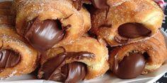 Συνταγή: Φτιάξτε λουκουμάδες γεμιστούς με σοκολάτα