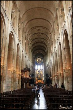 Basilica of St. Sernin, Toulouse, France