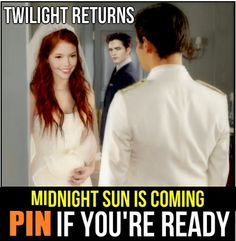It's coming! Exclusive information at: www.facebook.com/MidnightSun2014