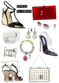 Top 10 See Through Accessories