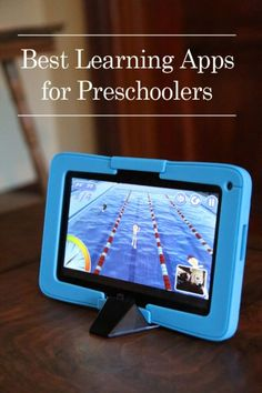 Best learning apps for preschoolers to use on a tablet