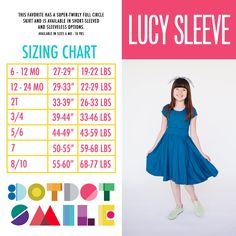 Dot Dot Smile Lucy Sleeve Dress - Available in sizes 6 months - 10 years