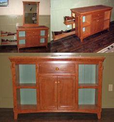 Trophy Mount with Hidden Gun Cabinet