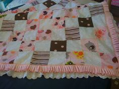 This is the quilt I made for my granddaughter.