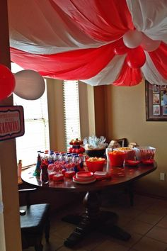 Ethan's circus themed Birthday party. He loved it!