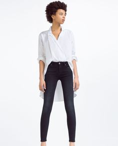 ZARA - NOUVELLE COLLECTION - JEAN SUPER SKINNY SOFT