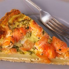 Try this Potato, Smoked Salmon and Dill Tart recipe by Chef Rachel Allen. This recipe is from the show Rachel Allen's Everyday Kitchen.