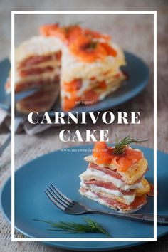 We don't have anything sweet for you, but we do have a cake! A carnivore cake. Low Carb Keto, Low Carb Recipes, Diet Recipes, Snacks Recipes, Keto Dessert Easy, Keto Desserts, Sugar Free Sweets, Carnivore, Keto Cake