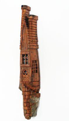 Wood Carving Faces, Wood Carving Art, Wood Carvings, Wood Art, Chris Johnson, Wood Snowman, Wood Plans, Fairy Houses, Fairy Gardens