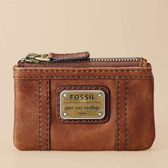 FOSSIL® Wallets Coin Wallets:Women Emory Zip Coin SL2933 - Beautiful