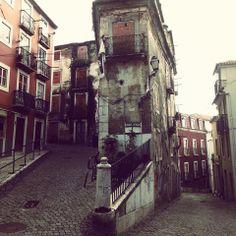 Street in Aflama, Lisbon