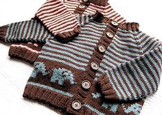 Bellyphant Baby Cardigan by Jennifer Little - $$4.99