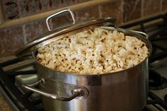Popping popcorn on the stove and great flavoring ideas! I'm a disgrace to my family cuz I don't eat enough popcorn! Lol gotta start eating more!