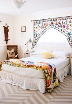 17 dormitorios Boho | Decoración