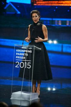 """Crown Princess Mary of Denmark awards """"Crown Prince Couple's Prizes 2015"""". The…"""