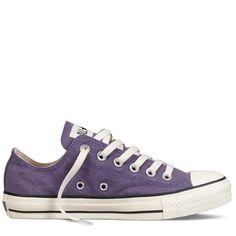 Converse - Chuck Taylor Stonewashed Canvas - Low - Purple