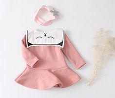 B Diary Napped Sarah Cat Dress (2C)