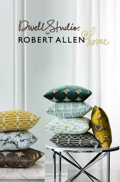 DwellStudio for Robert Allen @ Home Fabrics.  Available at CalicoCorners.