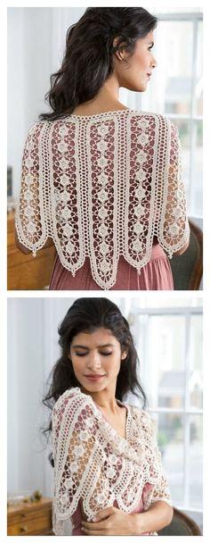 Crochet Wild Rose Shawl Free Pattern
