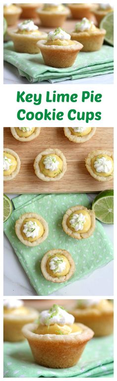 Key Lime Pie Cookie Cups | Grandbaby Cakes