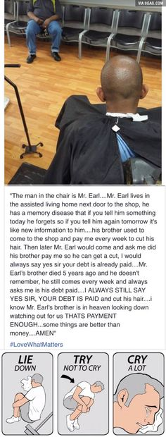 Faith in humanity restored Faith in humanity restored<br> More memes, funny videos and pics on Sweet Stories, Cute Stories, Human Kindness, Touching Stories, Gives Me Hope, Faith In Humanity Restored, No Kidding, Good Deeds, What A Wonderful World