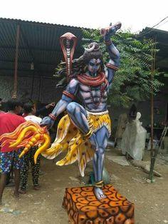 MahaDevॐॐ Shri Ganesh, Ganesha Art, Krishna, Ganesha Pictures, Ganesh Images, Ganesha Sketch, Kali Hindu, Lord Shiva Statue, Shiva Parvati Images