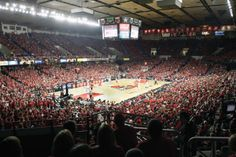 Freedom Hall - former home of the University of Louisville Cardinals