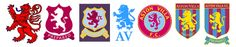 Opinions on corporate and brand identity work Aston Villa Players, Team Games, Branding, Great Team, Identity, Football, Logos, Badges, Soccer
