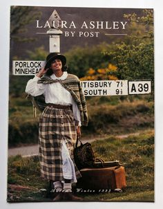 RARE VINTAGE US LAURA ASHLEY BY POST Autumn Winter 1993 Fashion Catalogue 32pp