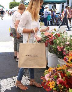 shopping bag the little market