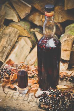 How to make elderberry, sloe and cardamom liqueur