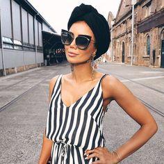 cf3b393c987 Pia Muehlenbeck wears the STORMY cateye sunglasses by DITA Eyewear.