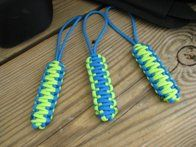 Fun, colorful, and very. very useful: working with paracord is a great summer activity or craft for kids and adults. (And less annoying than the plastic lace jewelry from summer camp.)