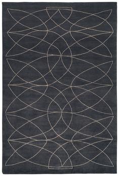 'Akana DGR' rug. Hand knotted. Made in Nepal.  www.rugs.kristiinalassus.com