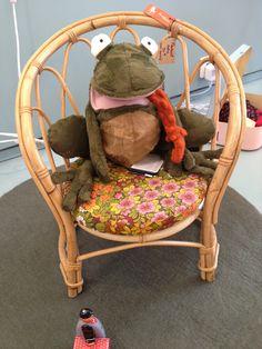 La grenouille au fauteuil...