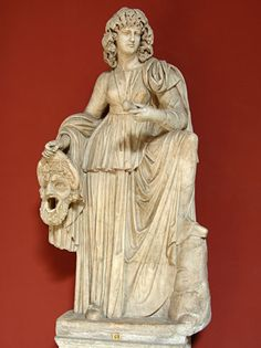Statue of Melpomene, 2nd c. A.D. Ancient Rome