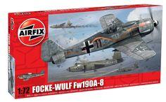 Amazon.com: Airfix A01020 Focke Wulf Fw190A-8 Model Kit, 1:72 Scale: Toys & Games