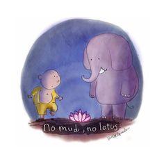 """694 curtidas, 8 comentários - Filosofia de vida  ✲ ☯ ☸ (@frasesbudistas) no Instagram: """"""""Sem lama, sem lotus"""" 🌟 Da lama nasce a flor de lótus. A água com lodo que acolhe a planta é…"""""""