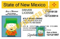 This is New Mexico (USA State) Drivers License PSD (Photoshop) Template. On this PSD Template you can put any Name, Address, License No. DOB etc and make your personalized Driver License.  You can also print this New Mexico (USA State) Drivers License from a professional plastic ID Card Printer and use as per your requirement.