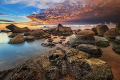 Beautiful Samudra Beach,  Indonesia by  Bobby Bong on 500px