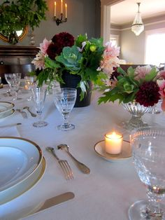 Our Autumn dinner party