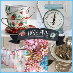 Take Five: Flea Market Finds