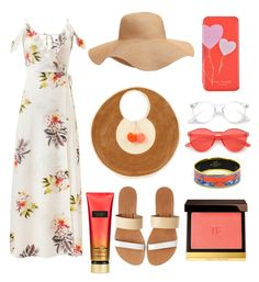 """""""Summer fashion"""" by magdalena-lugumerski on Polyvore featuring Sophie Anderson, Isapera, Old Navy, Ted Baker, Hermès and Tom Ford"""