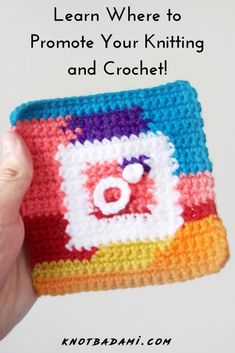 How to Promote your Knitting and Crochet Crochet Gifts, Free Crochet, Knit Crochet, Simple Crochet, Crochet Things, Crochet Granny, Crotchet, Crochet Dolls, Easy Crochet Patterns
