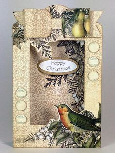 Craftwork Cards Blog: The Magic of Christmas Tag Pad - card by Neil Burley. Great way to turn tags into cards.