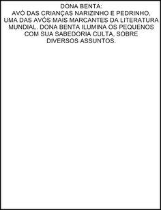 Dona Benta do Sítio do Picapau Amarelo
