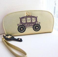 2015 New Princess Horse Women Carriage Coin Long Fashion Leather PU Women's Purses Key Phone Bag Wallet Card Passort Money Clips