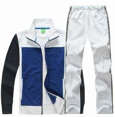 2013 ropa deportiva para hombre gimnasio ocio del algodón chándal / sweatsuit hoodied trajes del deporte 3 colo M-2XL